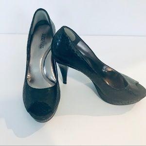Kenneth Cole platform heels